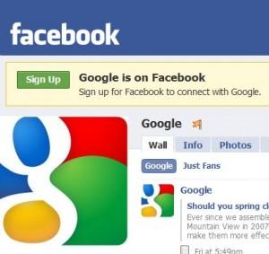 google-facebook-page1